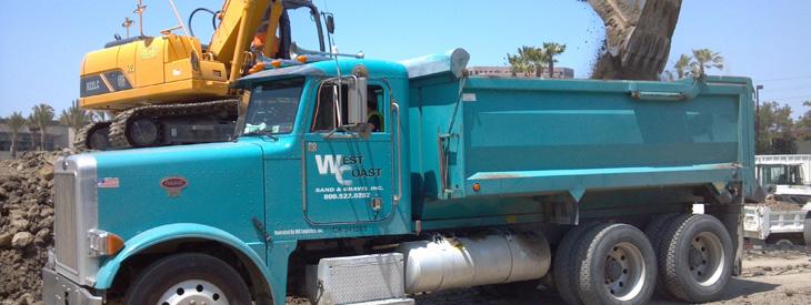 West Coast Sand and Gravel Header Construction Aggregates